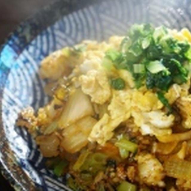 FMICの調味料であきちゃんからのつくれぽ^^簡単絶品!!角煮&キムチ入りチャーハン