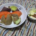 レンジ蒸し野菜のおやつ