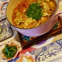 オイスター煮麺♪ Oyster Noodle