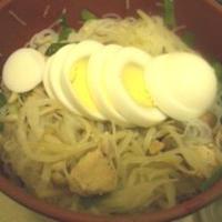 レシピブログ ハウス食品さんのパラっと旨炒めペースト 鶏ガラ塩コショウ味 でレンジビーフン