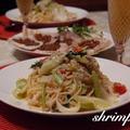 お出かけ前の冷蔵庫整理♡&納豆のカレー風味パリパリ by シュリンピさん