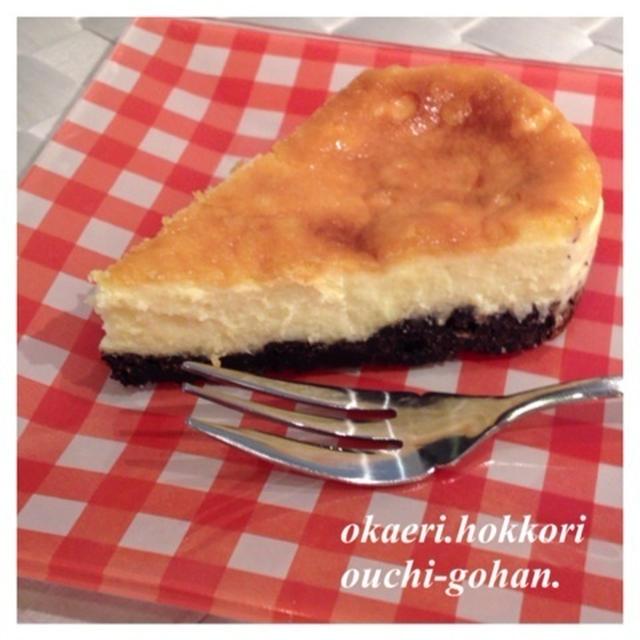 娘ちゃん作☆チーズケーキ♪