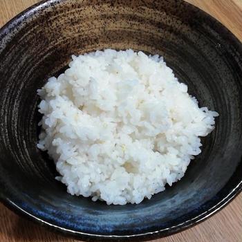 シンプルに 「新米を炊く」