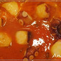 ☆タコとポルチーニ茸の野菜ジュース煮☆