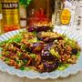 【レシピ】茄子とひき肉の甘酢炒め