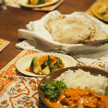 オンラインレッスン 「旅する食卓〜インド編」