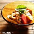 """海藻""""乾物♪ひじきと割り干し大根の味噌ホルモン(作り置き)"""