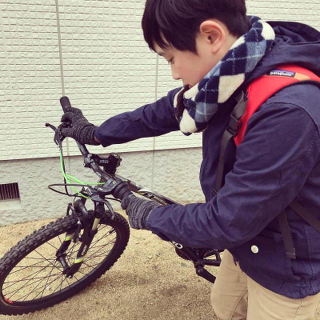次男君のサイクリング