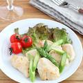 【#鶏むね肉】低糖質!鶏むね肉とアスパラガスの白ワインソテー