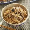 中華風きのこと豚肉の炊き込みご飯