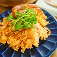 【モニター】レンジ調理!シャウエッセンといただくトマトピラフ風(洋風炊き込みご飯)