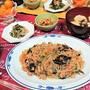 【おうちごはん】フライパン1つで!【春雨と豚ひき肉の中華炒めde夕食】。と、テストモード。