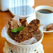 ザクザク!ブラック ビスコッティ―♪ 〜ネオトレビエで美味しいコーヒー〜