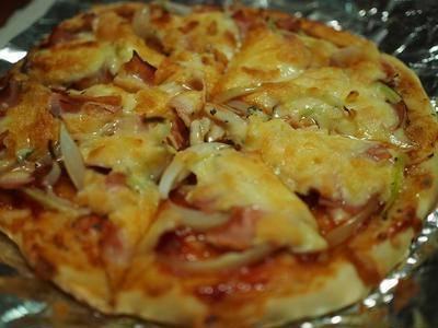 ブルドック うまソースで、簡単おうちピザ!