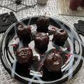 毒りんごみたいな姫りんごの赤ワイン煮チョコレートがけ