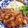 美味しさアップル☆フルーティーな生姜焼き