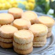 塩バニラのさくさくディアマン・クッキー (レシピ付き)