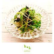 【3コマレシピ】水菜と大根のやみつきサラダ
