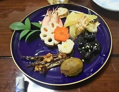 ☆お正月料理&牡蠣の炭火焼き☆