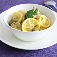 クミンでエスニック♪モロッコ風チキンのレモン煮