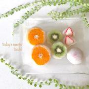 白玉粉で♪何個でも食べたい彩り鮮やか「フルーツ大福」レシピ