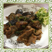 豚肉・茄子・あさつきの辛味噌炒め(レシピ付)