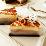 ケーキやタルトの持ち運びに便利な、ケーキ屋さんのトレー&フィルム