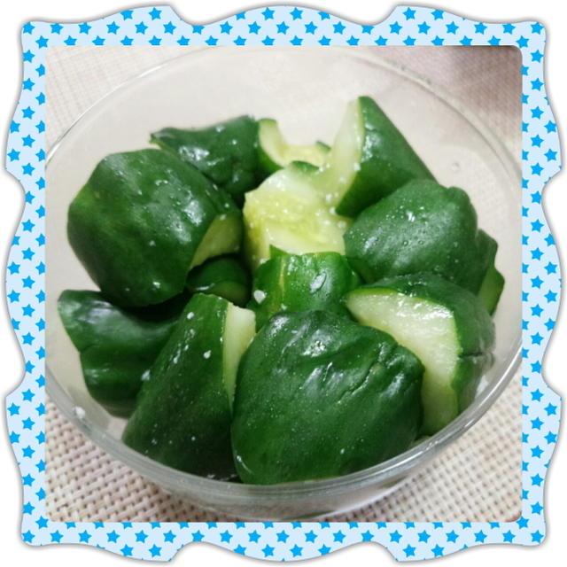 きゅうりの米麹漬け(お漬物)