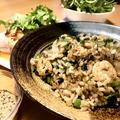 糖質オフ 天然うま味調味料えび粉を使ったパラパラ炒飯