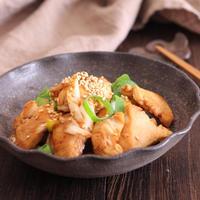 【レシピ】鶏肉とねぎの焦がしにんにく醤油炒め#簡単#食材2品