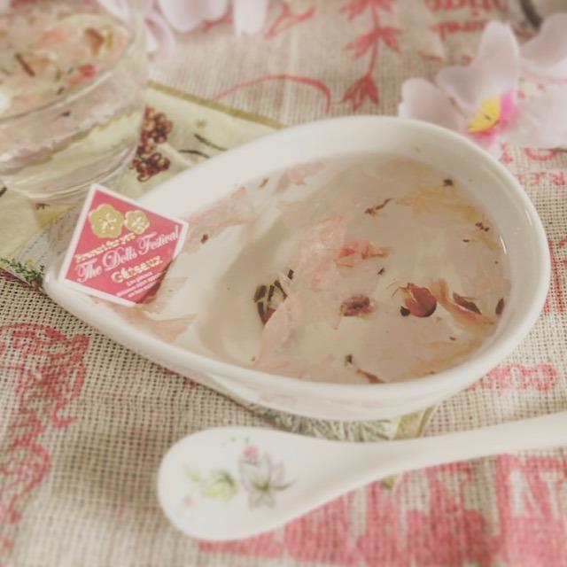 矢野公民館男性料理教室☆2019.4桜の塩漬けゼリー