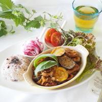 コリアンダー de 夏野菜のコリアンダー牛肉トマト煮込み。。。