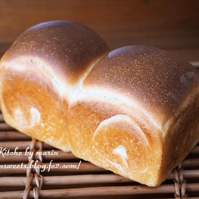 ホシノ天然酵母の山食パン【レシピ】