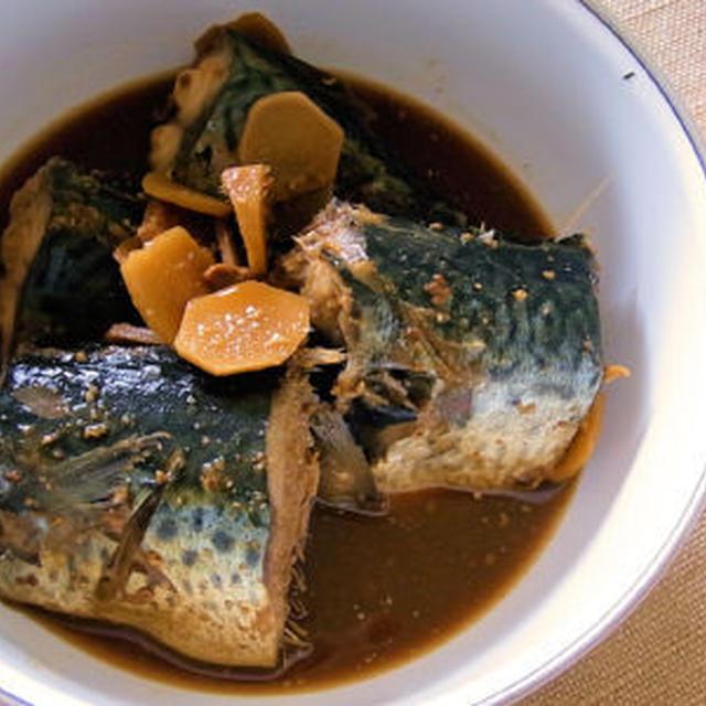 圧力 煮 の 鍋 味噌 サバ