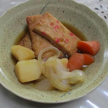 いかたこ生姜入り練り物の煮物★★★