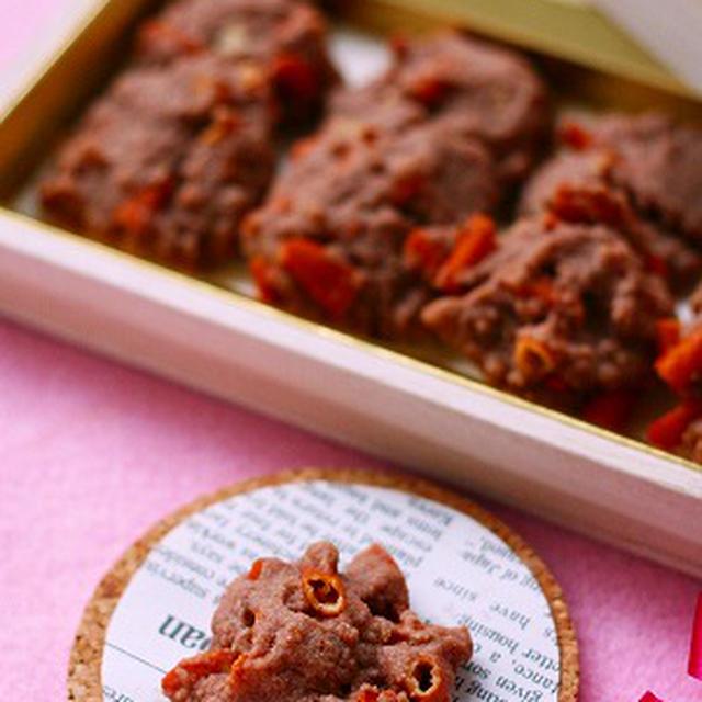 甘さほんのり、ぱりほろ・柿の種クッキー