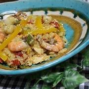 土鍋で炊くバレンシア風パエリア