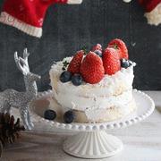 レシピブログfor auスマートパス「米粉シフォンのネイキッドケーキ」オリジナルレシピをUP♪