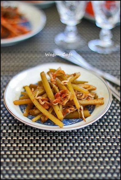韓国風の蕗の炒め物 **モウィ ポックン