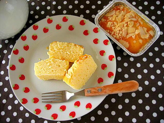 1. 米粉でもっちりパウンドケーキ
