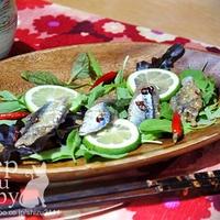 タイム香る秋刀魚のマリネ レッドサーモンのディップ