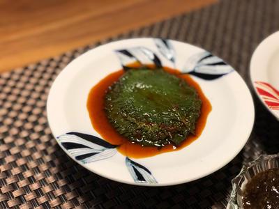 大葉が安くて購入。大量に余ったら醤油漬けで常備菜にしよう。