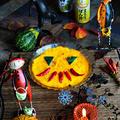 トースターで簡単ほっとけ焼き ハロウィンバージョンの大きなかぼちゃ大根餅 - 豊菜JIKAN × ヤマサ -