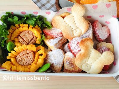 French Toast Bento フレンチトーストのお弁当