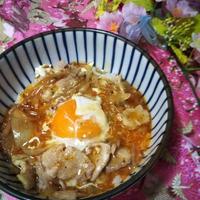 久しぶりのお料理レシピ★麻婆豆腐のたれで簡単!麻婆他人丼★