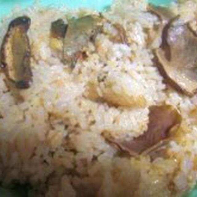 ポルチーニの炊き込みご飯