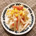 めんつゆ&マヨ1対1でドレッシング‼︎モリモリ食べれる大根サラダ
