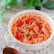 レンジで作ればあっという間!「トマトリゾット」のおすすめレシピ