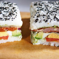 ■日本ハム様モニター料理【簡単!豪快!型押しおにぎらず♪】オードブルチーズローフで旨過ぎです♪