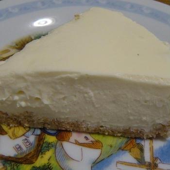 糖質制限★レアチーズケーキ